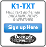 K1-TXT: FREE text and email BREAKING NEWS & Weather. Sign up here