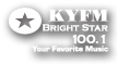 KYFM Brightstar 100.1 FM: Your favorite music